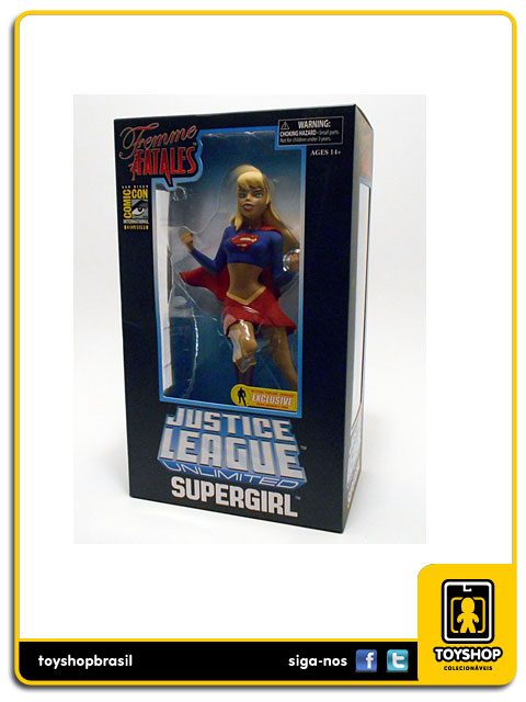 Femme Fatales Justice League Ulimited: Supergirl SDCC Statue - Diamond
