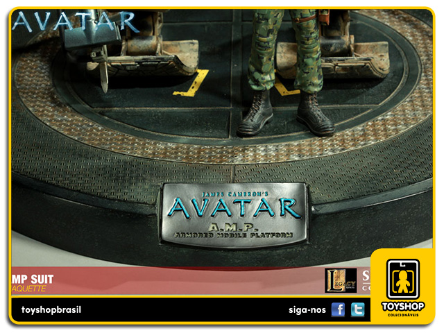 Avatar Amp Suit Maquette  Sideshow Collectibles