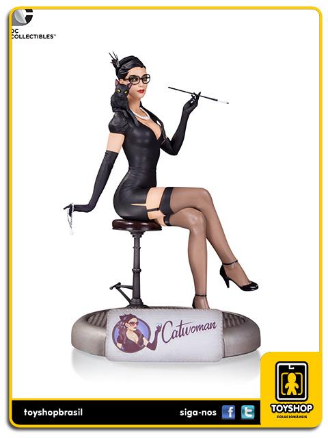 DC Comics Bombshells: Estátua Catwoman - DC Collectibles