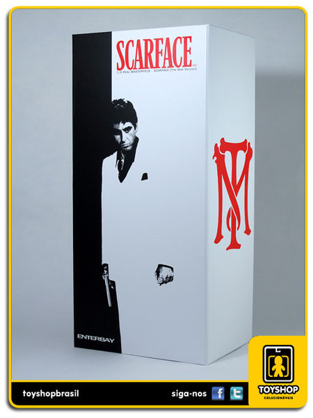 Scarface: Tony Montana The War Version - Enterbay