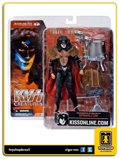 Kiss Creatures : The Fox - Mcfarlane