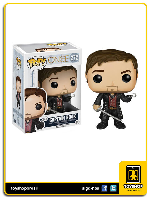 Once Upon a Time: Captain Hook  Pop - Funko