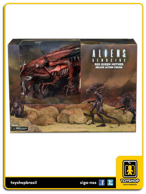 Aliens Genocide: Red Queen Mother Deluxe - Neca