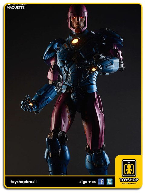 Marvel: Estátua Sentinel  Maquette - Sideshow