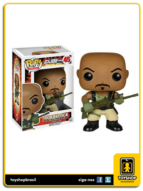 G.I.Joe: Roadblock  Pop - Funko