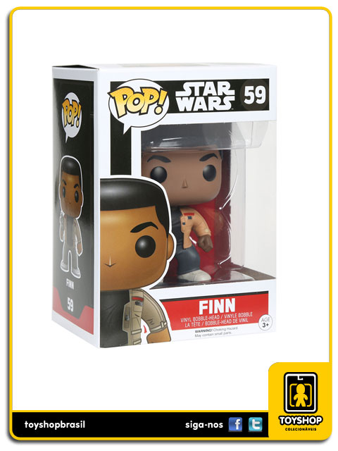 Star Wars The Force Awakens: Finn  Pop - Funko