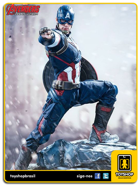 Avengers Age of Ultron: Captain America Legacy 1/4 - Iron Studios