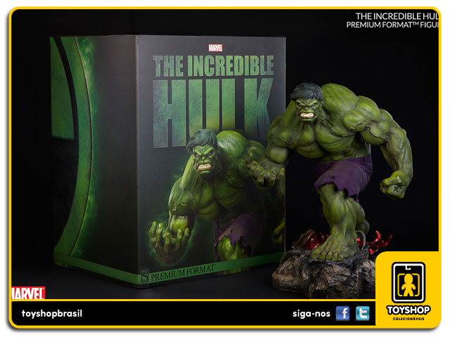 Marvel: The Incredible Hulk Premium Format - Sideshow Collectibles