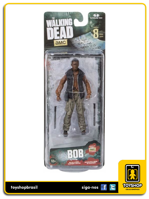 The Walking Dead 8: Bob - Mcfarlane