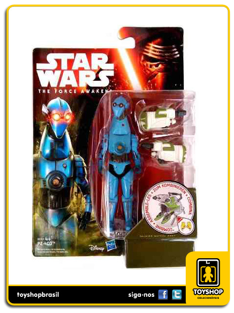 Star Wars The Force Awakens: PZ-4CO - Hasbro