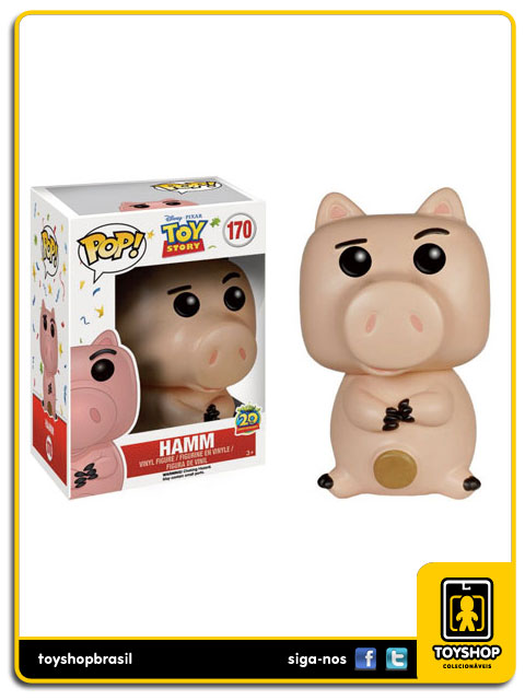 Toy Story: Hamm Disney Pop - Funko