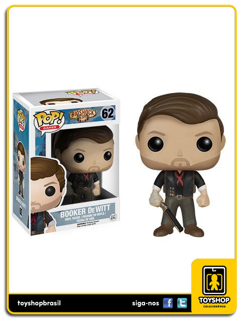 Bioshock Infinite: Booker DeWitt  Pop - Funko
