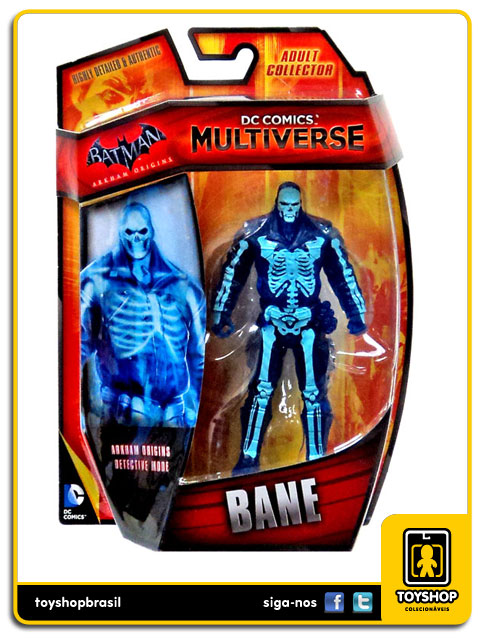 DC Comics Multiverse Arkham Origins Detective Mode: Bane - Mattel