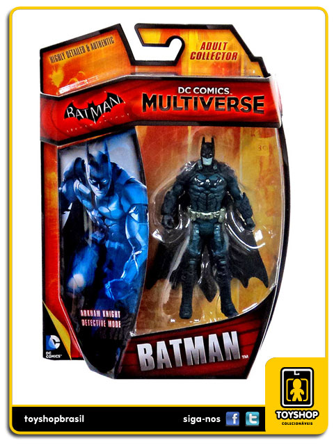 DC Comics Multiverse Arkham Knight Detective Mode: Batman - Mattel