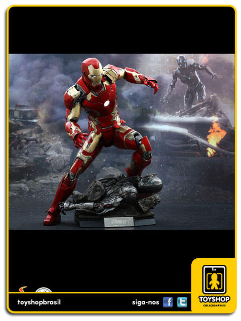 Avengers Age of Ultron: Iron Man Mark XLIII 1/4 - Hot Toys