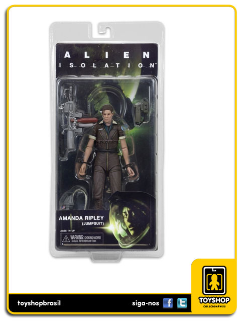 Alien Isolation: Amanda  Ripley Jumpsuit - Neca