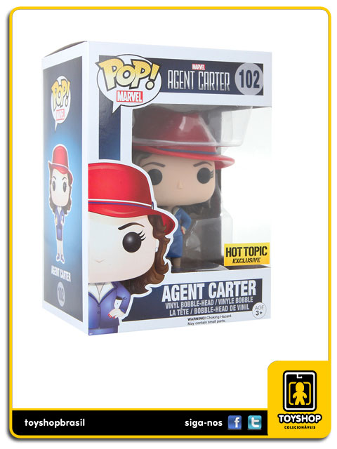 Marvel Agent Carter: Agent Peggy Carter Hot Topic Exclusive  Pop - Funko