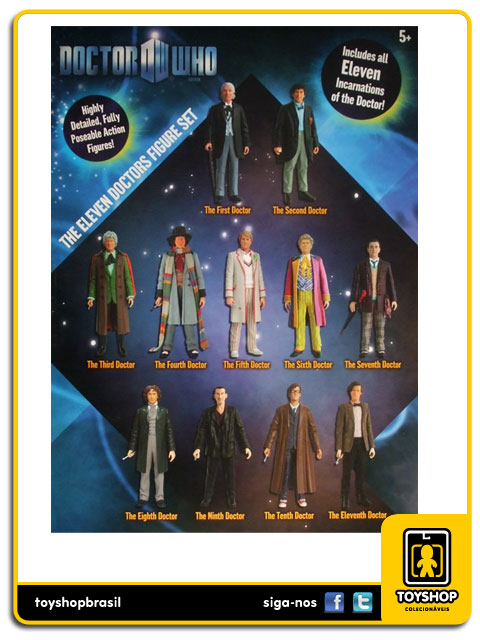 Doctor  Who: Box Set 11 Figuras - Underground