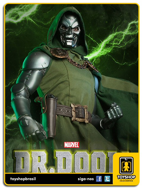Marvel: Estátua Dr. Doom Premium Format - Sideshow Collectibles