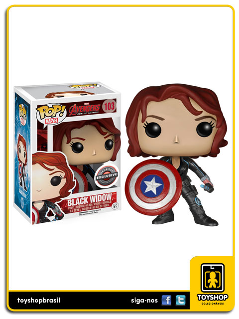 Avengers Age of Ultron: Black Widow GameStop Exclusive  Pop - Funko