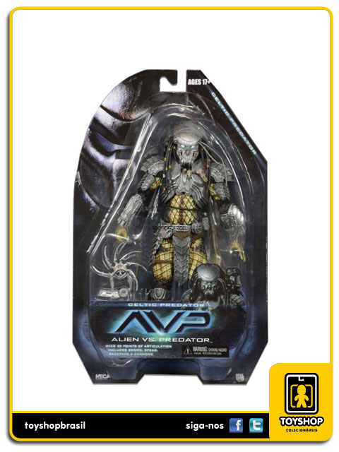 AVP Alien vs Predator: Celtic Predator - Neca