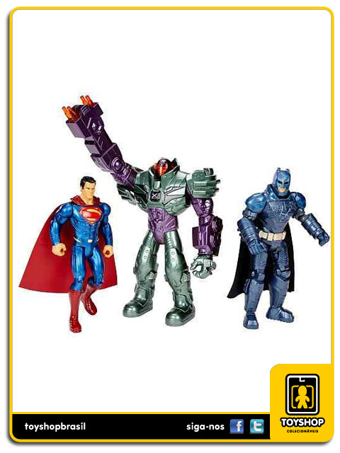 DC Comics Batman v Superman: Box 3 Figuras - Mattel