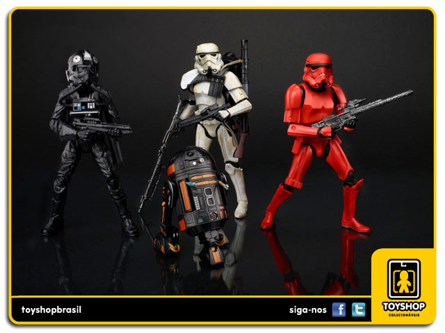Star Wars Imperial Forces Black Series: Box 4 Figuras Exclusivo Hasbro