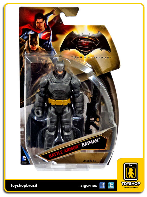 Dc Comics  Batman v Superman: Battle Armor  Batman  - Mattel
