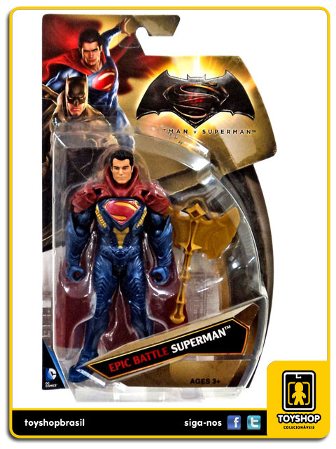 Dc Comics  Batman v Superman: Epic Battle Superman  - Mattel