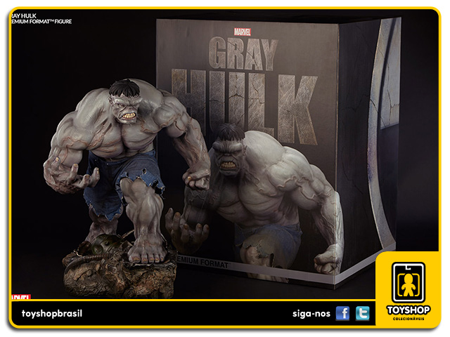 Marvel: Gray Hulk Premium Format - Sideshow Collectibles
