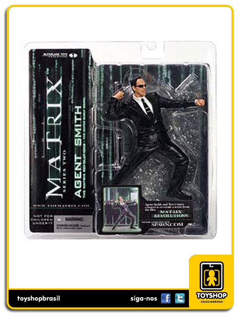 Matrix: Agent Smith - Mcfarlane