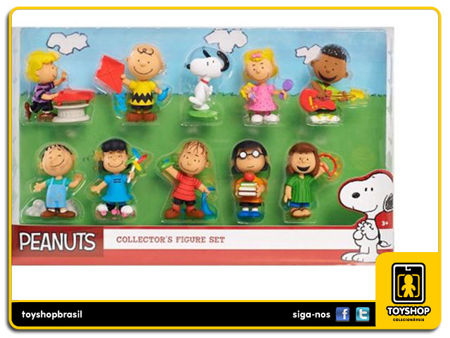 Peanuts: Box Set 10 Figuras - Just Play