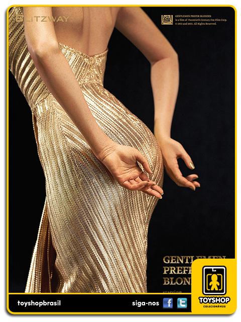 Gentlemen Prefer Blondes: Estátua Marilyn Monroe - Blitzway