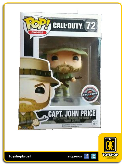 Call of Duty: Capt. John Price GameStop Exclusive  Pop - Funko