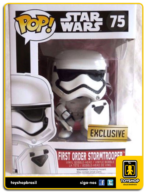 Star Wars The Force Awakens: First Order Stormtrooper Exclusive  Pop - Funko