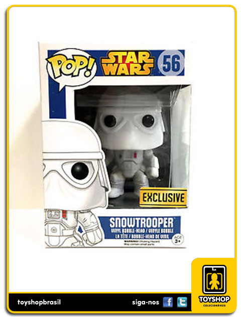 Star Wars: Snowtrooper Exclusive  Pop - Funko