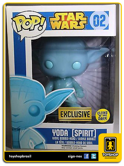 Star Wars: Yoda Spirit  Exclusive  Pop - Funko