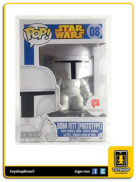 Star Wars: Boba Fett Prototype Exclusive W  Pop - Funko