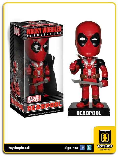 Marvel: Deadpool Bobble Head - Funko