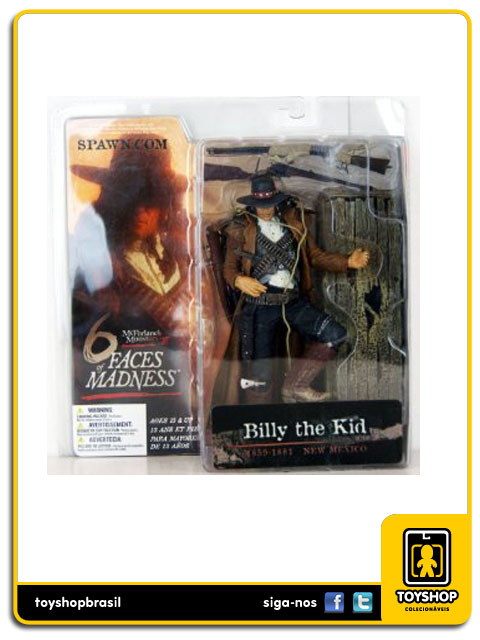 Six Faces of Madness: Billy the Kid - Mcfarlane