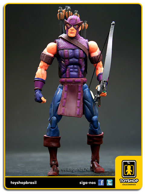 Marvel Legends Series VII: Hawkeye - Toy Biz