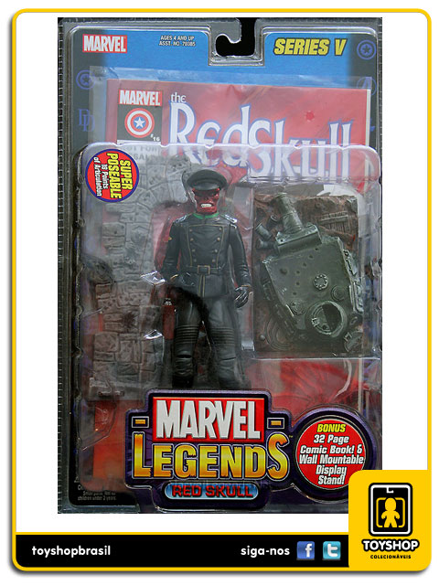 Marvel Legends Series V: Red Skull - Toy Biz