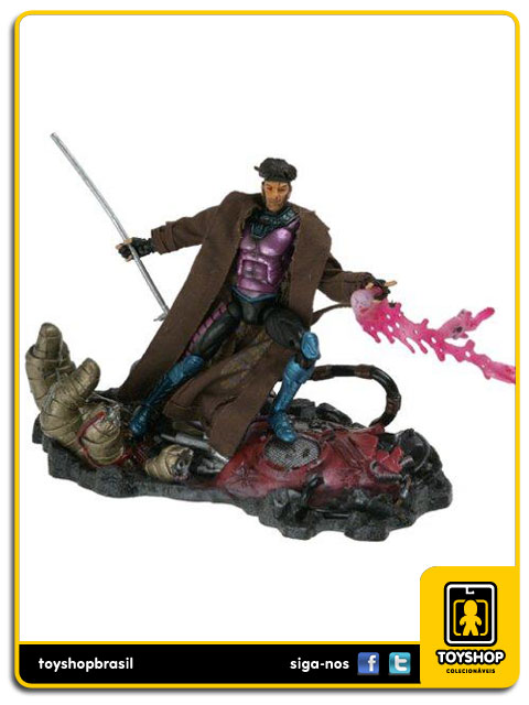 Marvel Legends Series IV: Gambit - Toy Biz