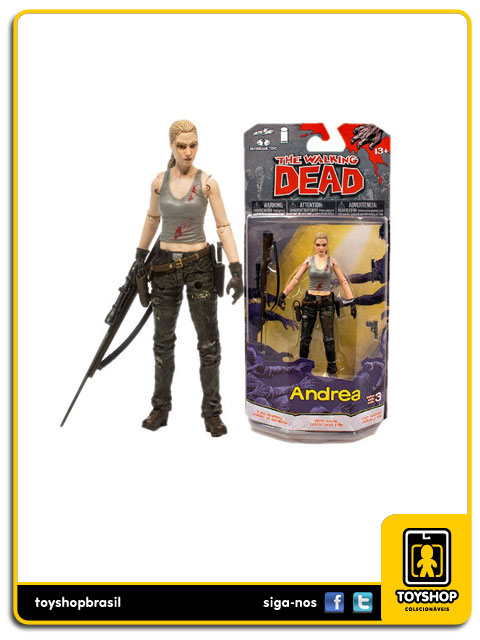 The Walking Dead Comic Book 3: Andrea - Mcfarlane