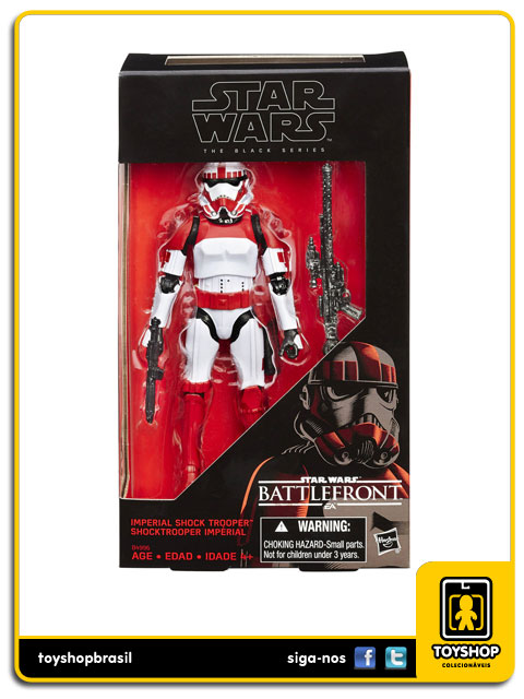 Star Wars Battlefront  Black Series: Shocktrooper Impérial - Hasbro