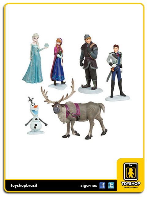 Frozen:  Frozen Box Set 6 Figuras - Disney Store