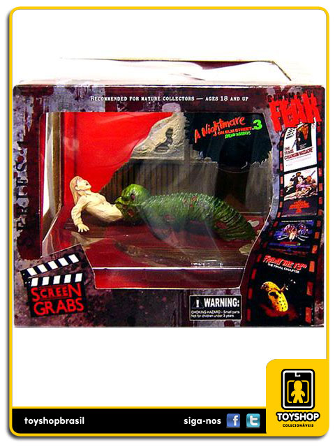 Cinema of Fear A Nightmare on elm Street 3:Dream Warriors  - Mezco