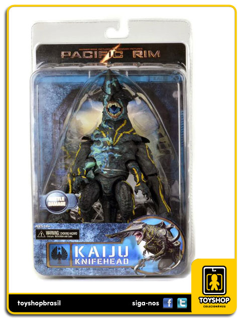 Pacific Rim: Kaiju Knifehead Battle Damage - Neca