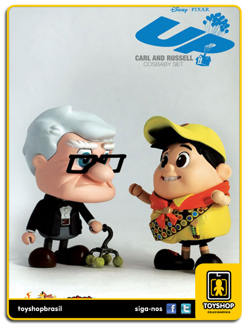 UP: Carl & Russell  Cosbaby - Hot Toys