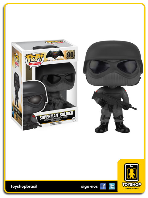 Batman v Superman: Superman Soldier Pop -  Funko